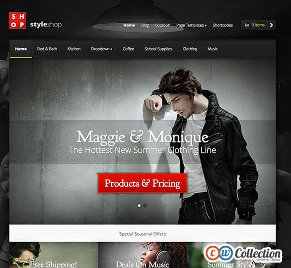 StyleShop-WordPress-Theme