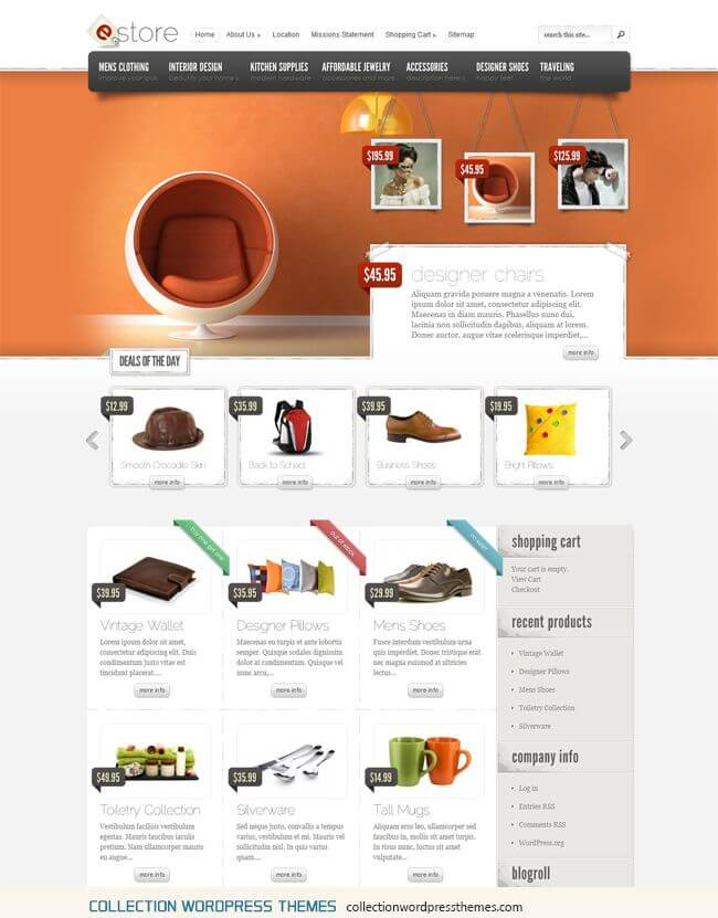 eStore-eCommerce-WordPress-Theme