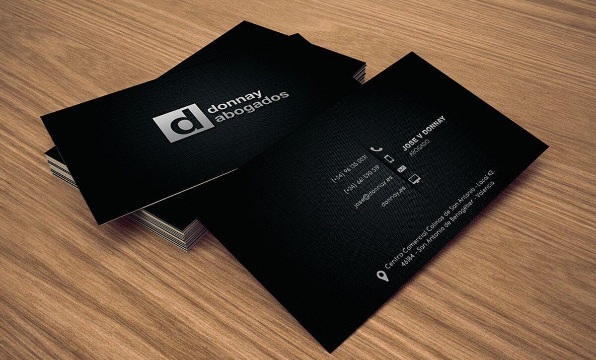 Dise o tarjetas de visita valencia - Disenos para tarjetas ...