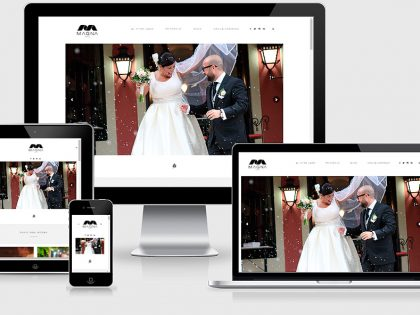 Diseño Web Wedding Planner